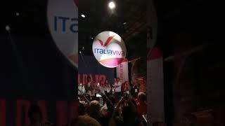 Renzi svela il simbolo di Italia Viva