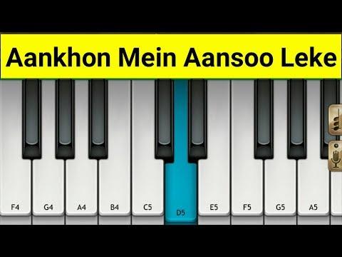 Aankhon mein aansoo || Yasser Desai, Palak Muchhal || by mobile piano