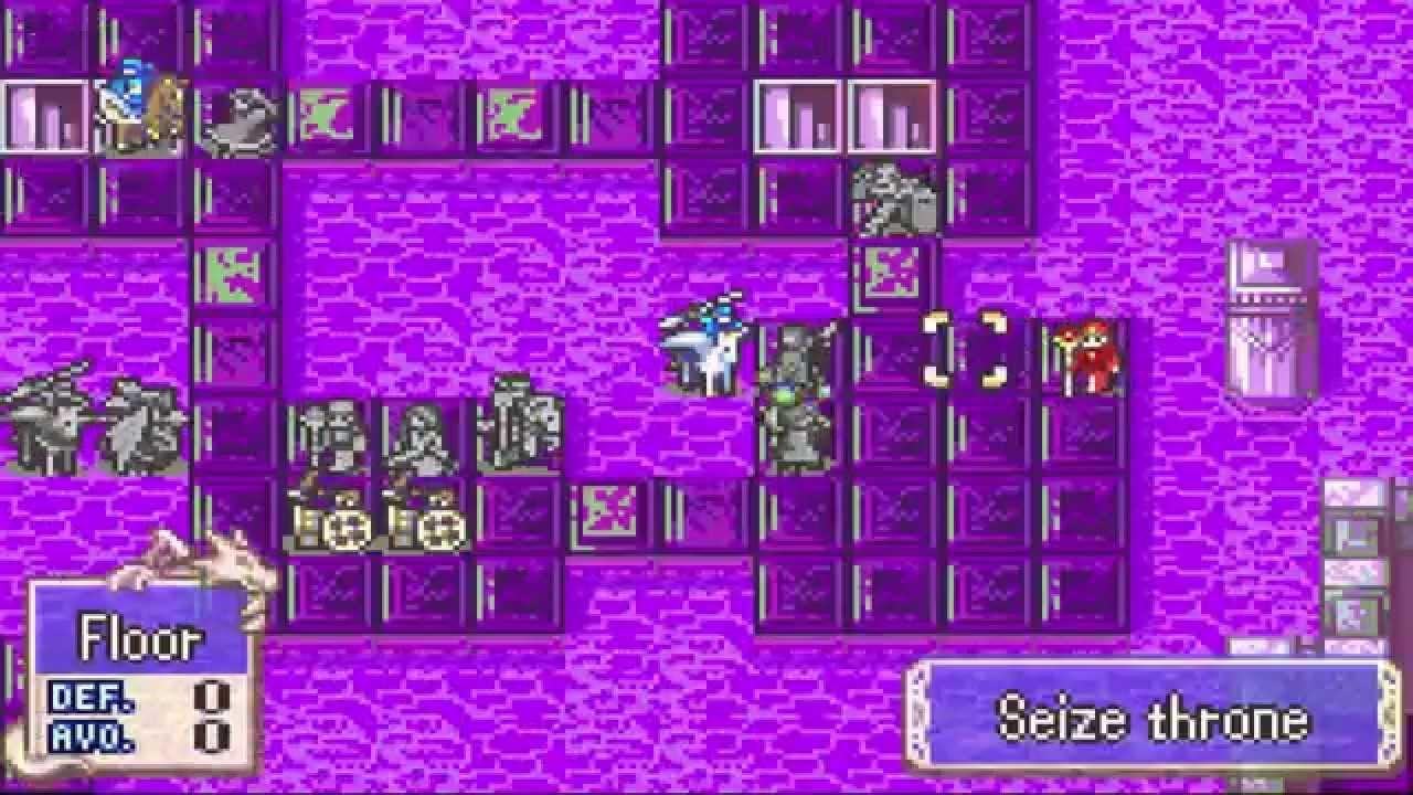 Fire Emblem: Blazing Sword - Hector Hard Mode (Chapter 28x)