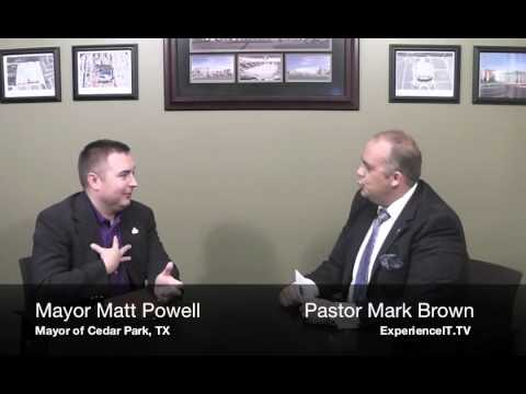 Interview with Mayor Matt Powell