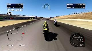 MotoGP 06 Xbox 360   Laguna Seca   Yamaha YZR-M1   Yamaha Racing   Valentino Rossi   2005