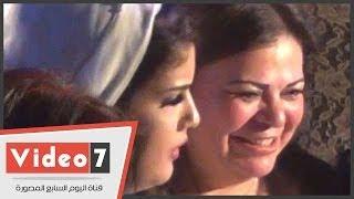 بالفيديو..الفنانة ماجدة زكى ترقص بحفل زفاف شقيقة «روجينا»