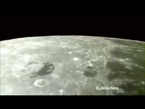 Kaguya   World's First Image Taking of the Moon by HDTV