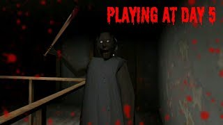 Playing Granny Horror Game at Day 5(Last Day)