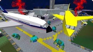 видео: ЗАБРОШЕННЫЙ АЭРОПОРТ! ОСТРОВ С ЗОМБИ! ДЕНЬ 17. ЗОМБИ АПОКАЛИПСИС В МАЙНКРАФТ! - (Minecraft - Сериал)