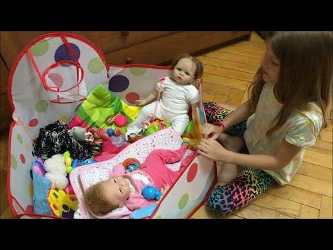 VLOG С реборном. Утро с Лили и Лолой. MY Morning Routine With Reborn Baby