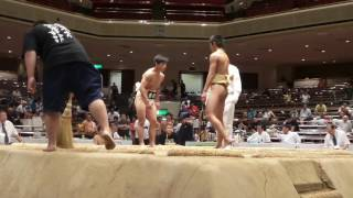 20160807都道府県中学相撲軽量級決勝トーナメント