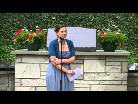 Bartok Hungarian Folk Song in Cleveland Garden