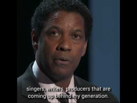 Denzel Washington Acceptance Speech NAACP Image Awards 2017 | The Influencer Project Motivation