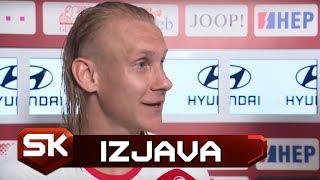 Domagoj Vida Posle Pobede Hrvatske nad Velsom 2:1   SPORT KLUB Fudbal
