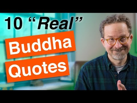 Real Buddha Quotes!