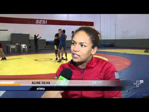 Lutadora Aline Silva Entra Para A História Da Luta Olímpica Ao Ser A Primeira Brasileira A Su