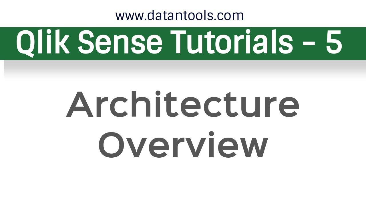 Qlik Sense Tutorials - QlikSense Architecture Overview
