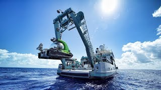 Taking a SUBMARINE 500 meters below the ocean surface! In 8K