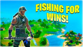 FISHING FOR DUBS!!  No1 Uk Storm Warrior LIVE // Monday Fortnite Guide