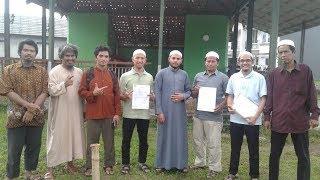 Ikrar Wakaf Tanah Cifor Untuk Masjid