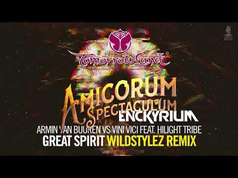 Tomorrowland Belgium 2017 Armin van Buuren end show Enckyrium Remake.
