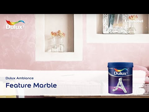 Dulux Ambiance Feature Marble Youtube