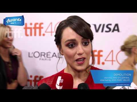 Heather Lind Demolition Red Carpet (TIFF 2015)
