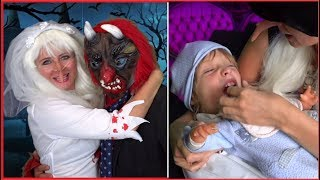 FAMIGLIA RADAMS EP.1 -  Vita da Mostri Halloween - Video Divertenti - Canale Nikita