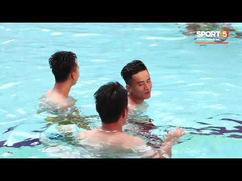 Toàn cảnh buổi tập khoe body toàn thân của đội tuyển U22 Việt Nam