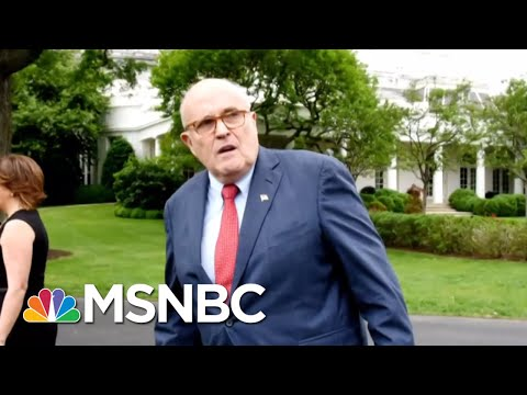 Rpt: Donald Trump Attorney Giuliani Is Working On A Mueller Counter-Report | The 11th Hour | MSNBC