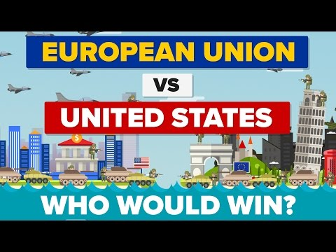 European Union vs The United States (EU vs USA) 2017 - Who W