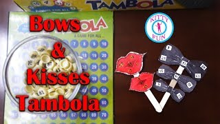 Bows and kisses Tambola Game | Couple Tambola Game