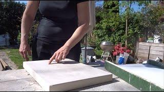 Tegels gieten - Nicole bouwt een zwembad – Aflevering 9