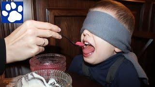 Челлендж Мороженое | Матвей Угадывает Вкус Мороженого | Ice Cream Challenge