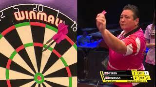 Sherrock vs O'Brien Darts GREAT COMEBACK GREAT FINISHES Ladies World Trophy 2018 Quarter Final