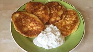 Завтрак от хороших людей/Оладьи из адыгейского сыра от Svetlana K/ Рецепт с болтологией.