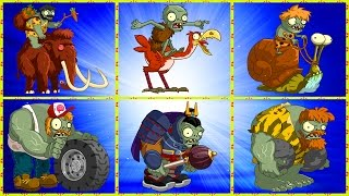 Plants Vs. Zombies 2 ONLINE - All Zomboss Fight!