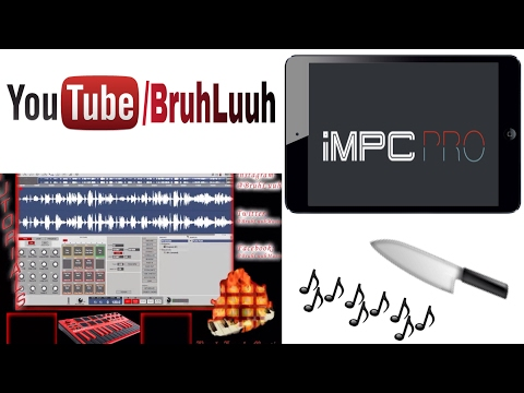 🔪🎶 How To Sample Chop w/ iMPC Pro (in depth drum kit tutorial) @Retronyms