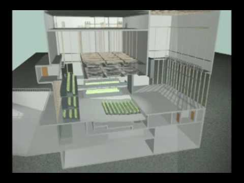 Dee and Charles Wyly Theatre, AT&T Performing Arts Center cut-away view animation