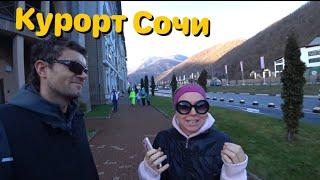 Красная Поляна горнолыжный спорт отдых в горах Большой Сочи 2020
