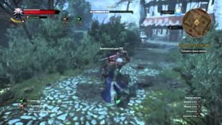 Ведьмак 3: Дикая Охота битва с ключником