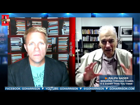 MUST SEE:  Breaking Through Power - A Talk with Ralph Nader