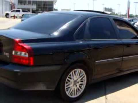 sold 2001 volvo s80 t6 fenton nissan east del city ok. Black Bedroom Furniture Sets. Home Design Ideas