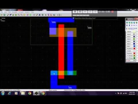Cadence tutorial - CMOS Inverter Layout | Doovi