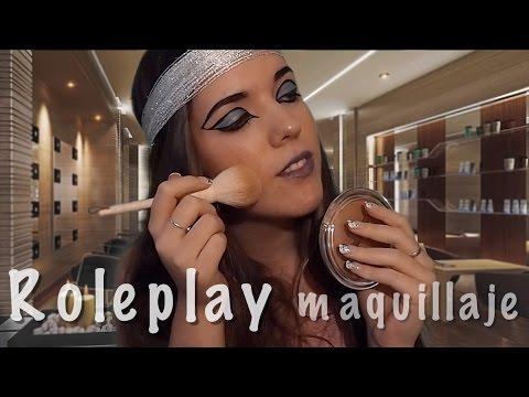ASMR ROLEPLAY maquillaje / MAKE UP ARTIST