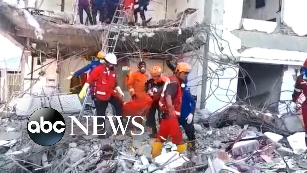 Rescue efforts for survivors continue after Indonesia earthquake and tsunami