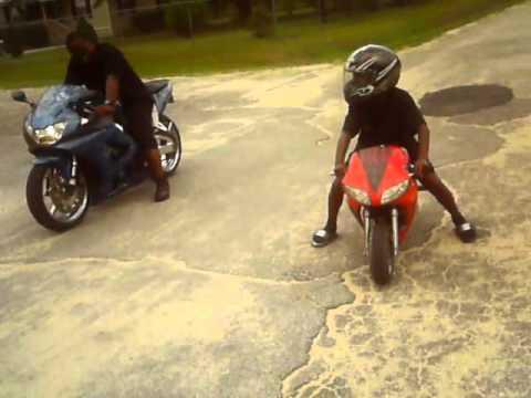 Pocket Bike Vs 929 Honda Youtube