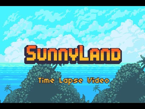 Sunny Land - Pixel Game Art by ansimuz