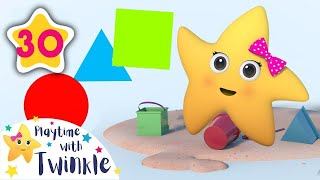Building Sandcastles | +More Kids Songs | Nursery Rhymes | Playtime with Twinkle | Little Baby Bum