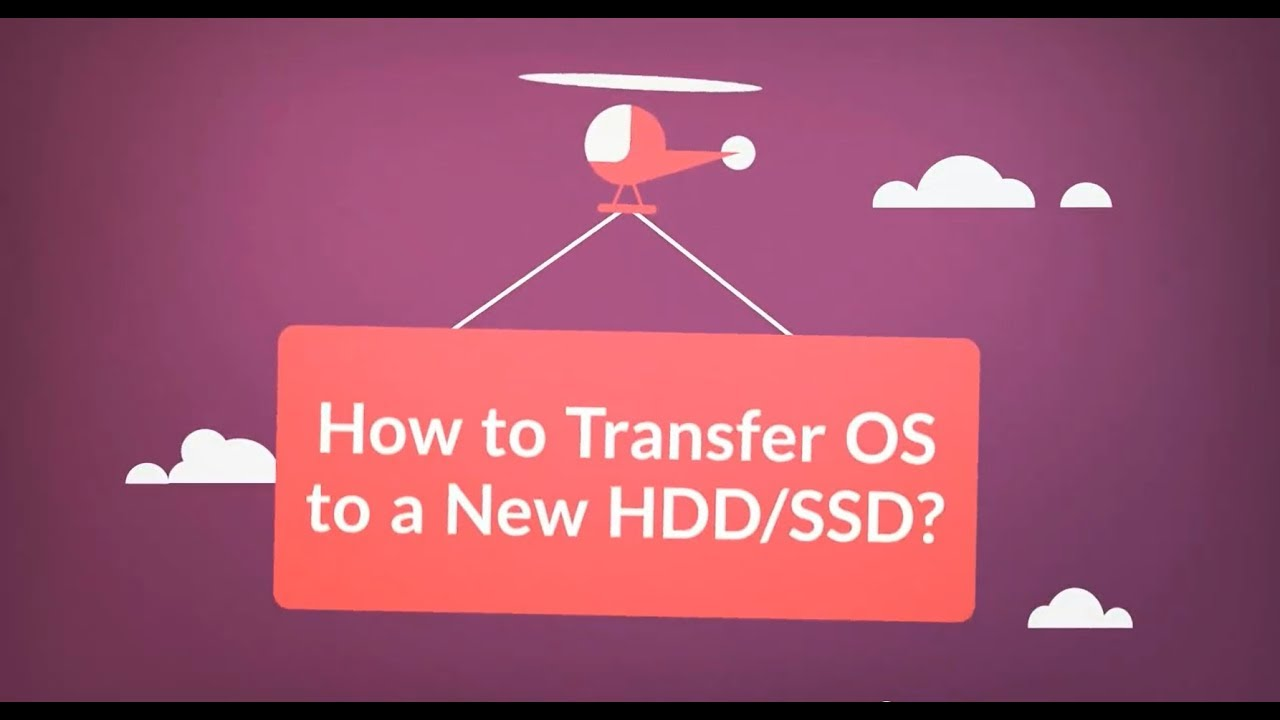 move os from hdd to ssd