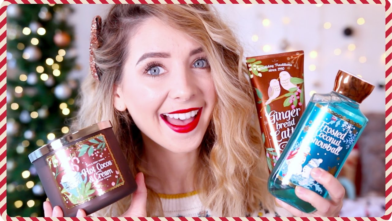 Christmas Bath & Bodyworks Haul | Zoella - YouTube