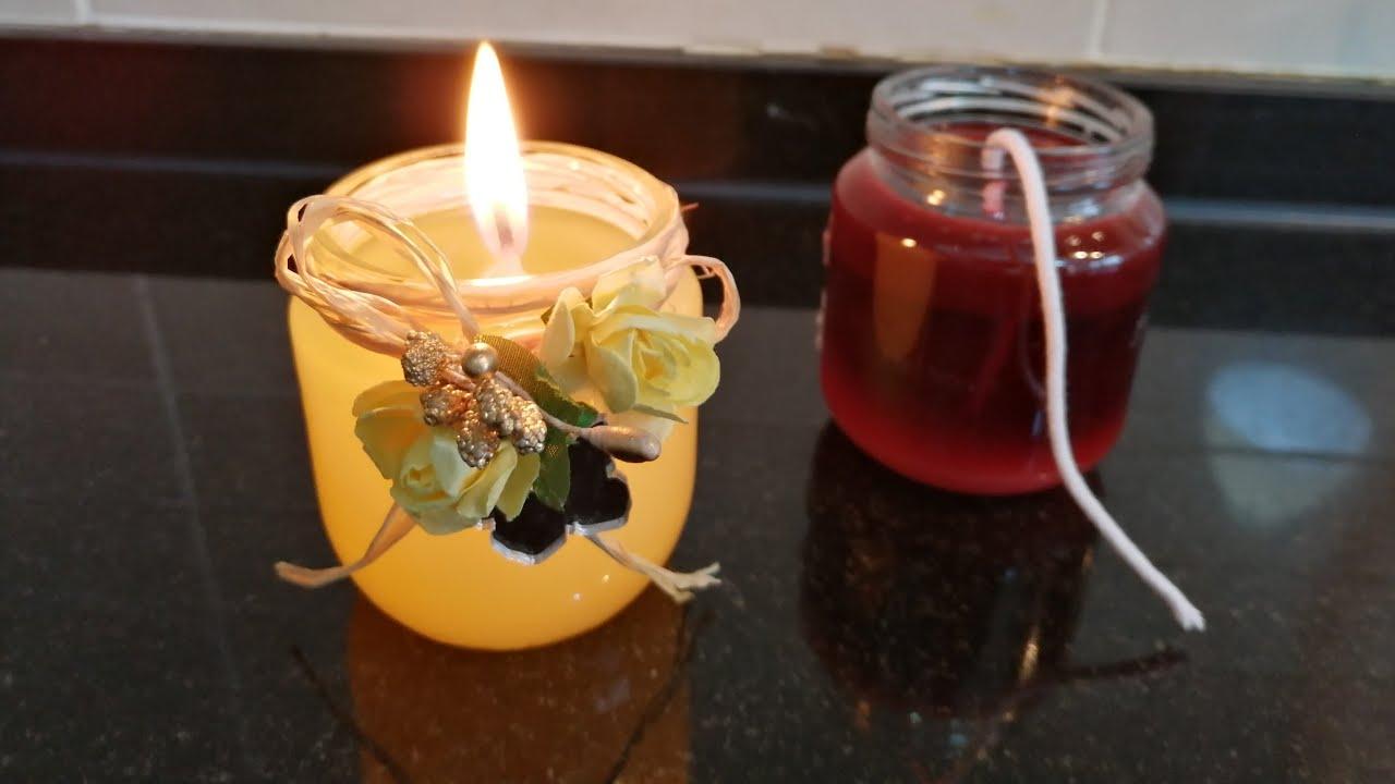 eski mumlarla yeni mum yapimi making candle eski mumlari degerlendirelim diy mum susleme