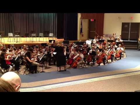 All City Orchestra, Nov 19, 2013, long lots school, 1