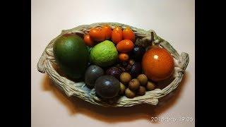 Пробую экзотические фрукты